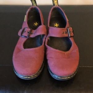 Dr.Martens Size 7 canvas Mary Janes